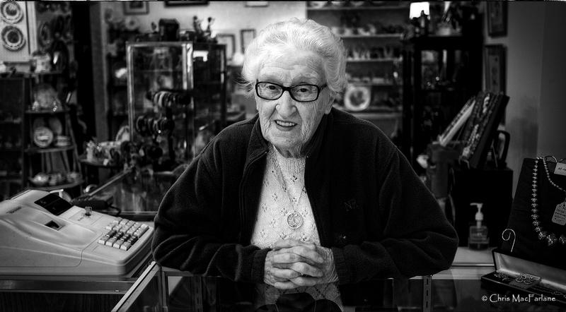 Shopkeeper Joan